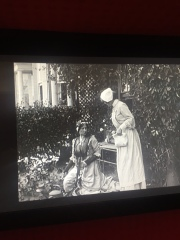 Betsey in Garden